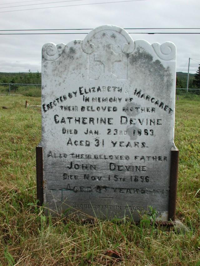 DEVINE, John (1896) & Catherine (1883) STM01-2349