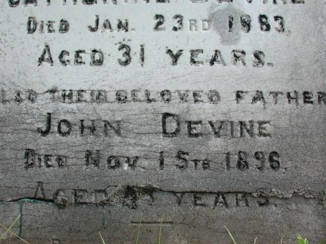 DEVINE, John (1896) & Catherine (1883) STM01-2351
