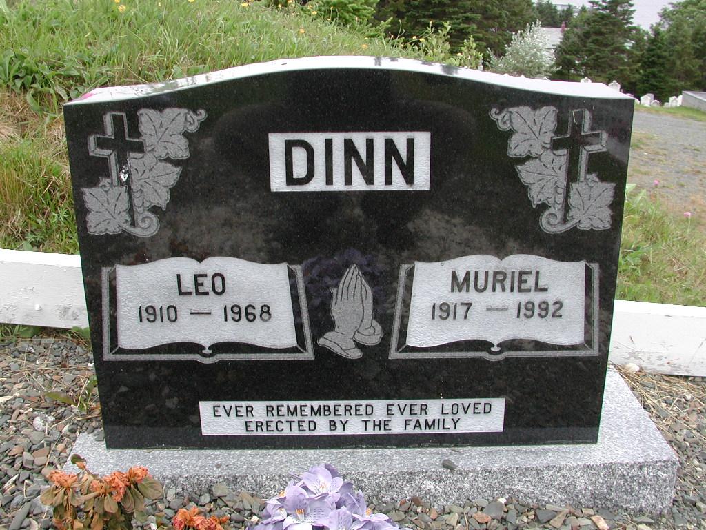DINN, Leo (1968) & Muriel (1992) SJP01-7397