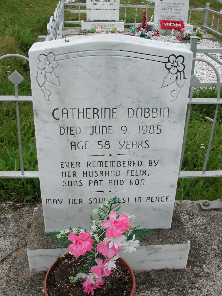DOBBIN, Catherine (1985) SJP01-7623