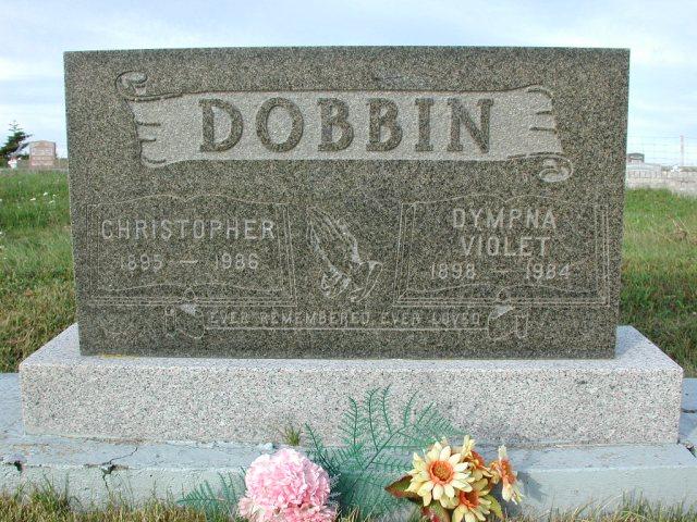 DOBBIN, Christopher (1986) & Dympna Violet (1984) STM03-3739