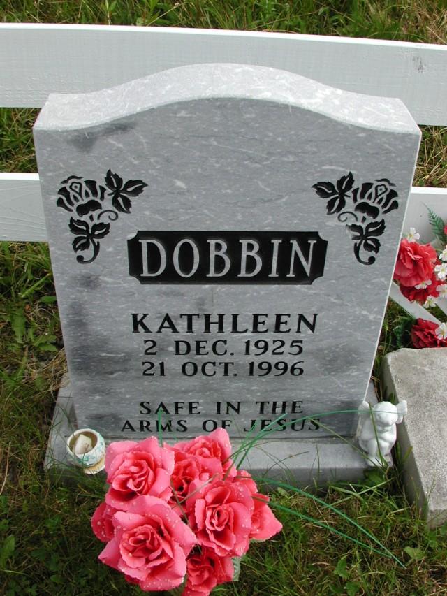 DOBBIN, Kathleen (1996) STM01-8280