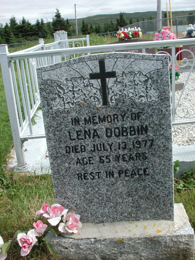 DOBBIN, Lena (1977) STM01-2360