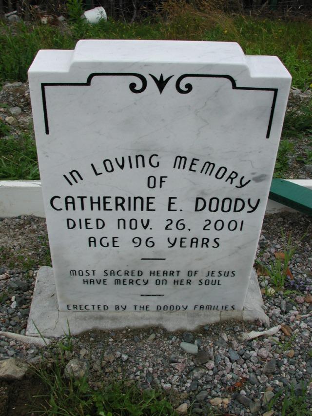 DOODY, Catherine E (2001) ODN02-7766