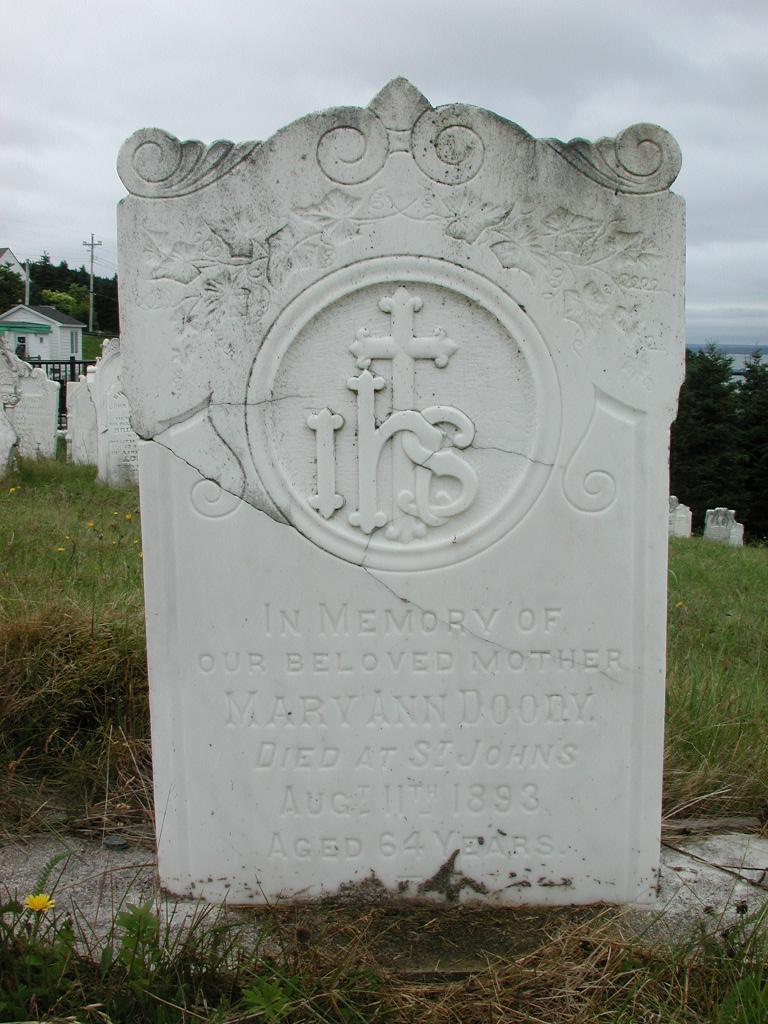 DOODY, Mary Ann (1893) SJP01-1933