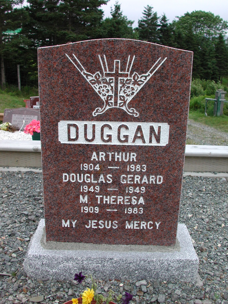 DUGGAN, Arthur (1983) & M Theresa & Douglas SJP01-1734