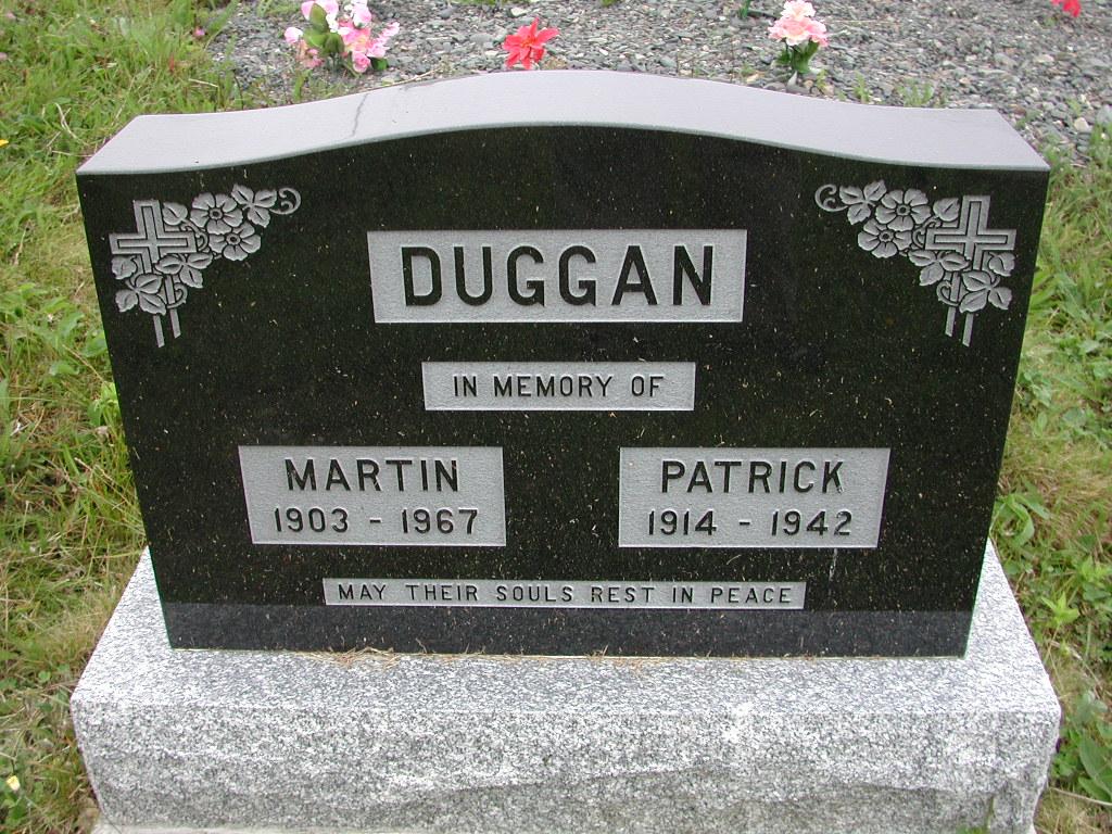 DUGGAN, Martin (1967) & Patrick (1942) SJP01-7443