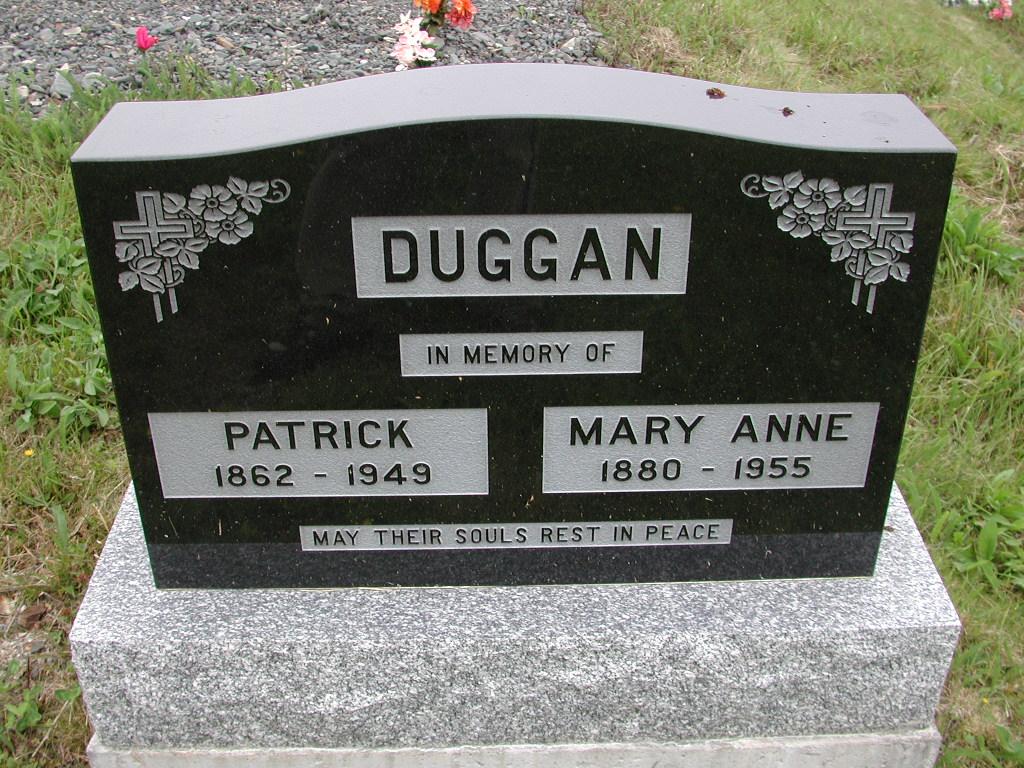 DUGGAN, Patrick (1949) & Mary Anne (1955) SJP01-7444