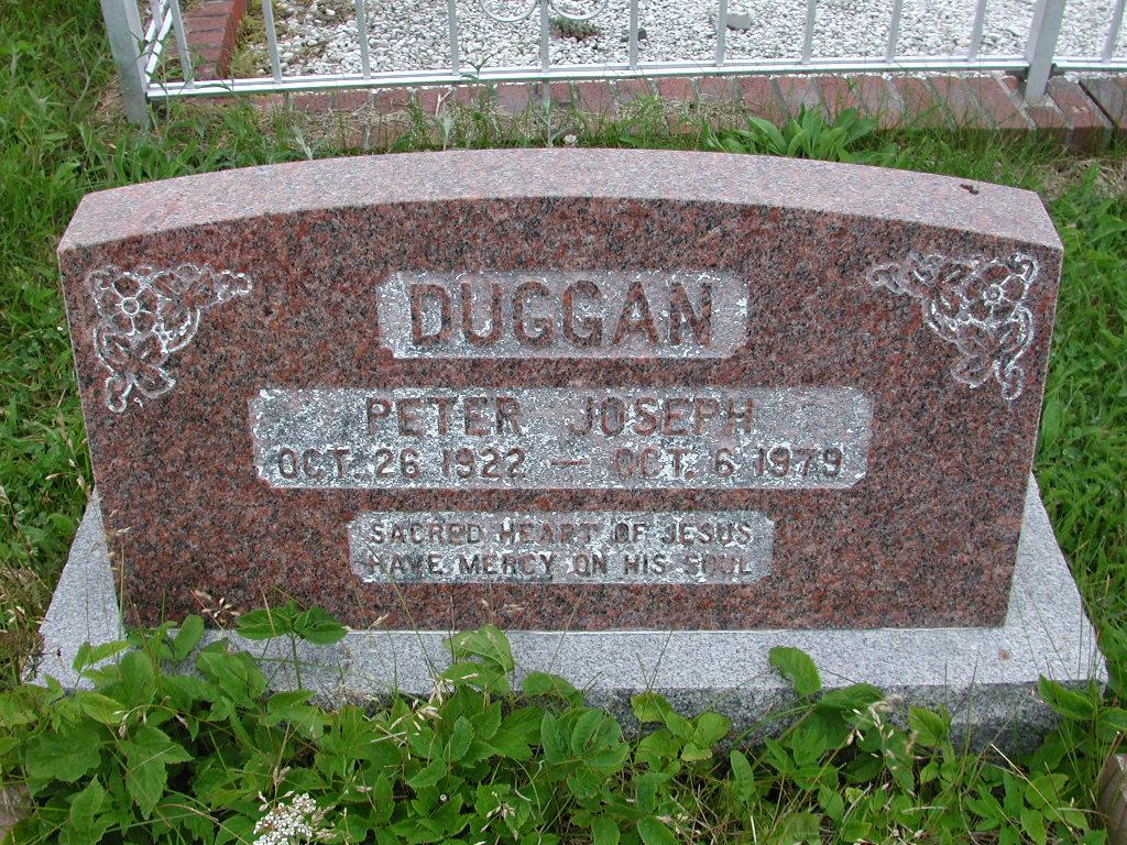 DUGGAN, Peter Joseph (1979) SJP01-7435