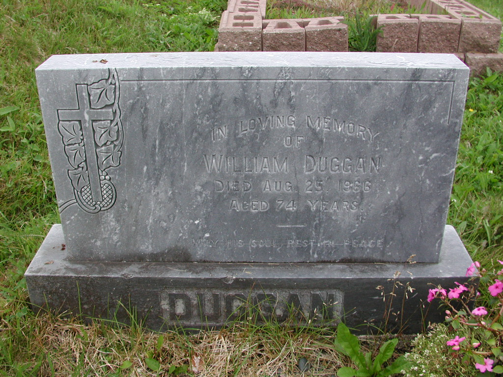 DUGGAN, William (1966) SJP01-7436