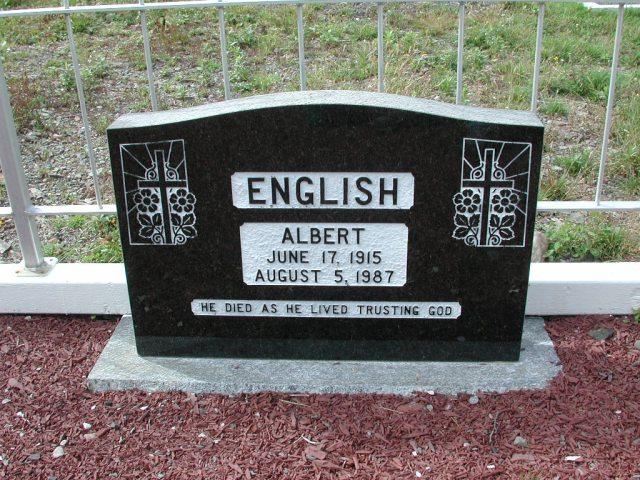 ENGLISH, Albert (1987) BRA01-7827