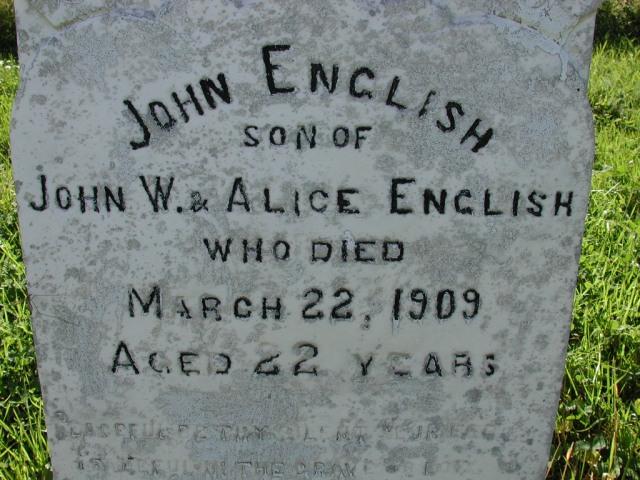 ENGLISH, John (1909) BRA02-3321