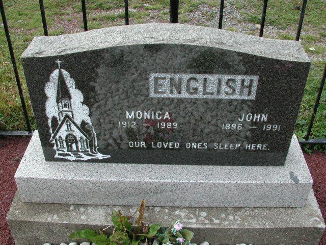 ENGLISH, John (1991) & Monica (1989) BRA01-3247