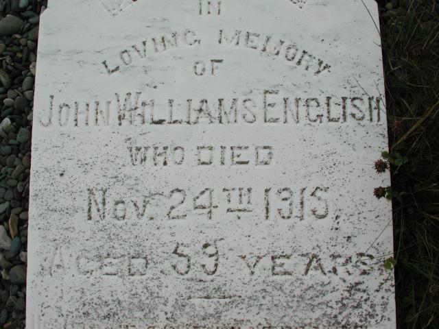 ENGLISH, John Williams (1915) BRA01-7722