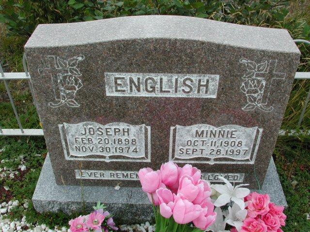 ENGLISH, Joseph (1974) & Minnie (1997) BRA01-3138