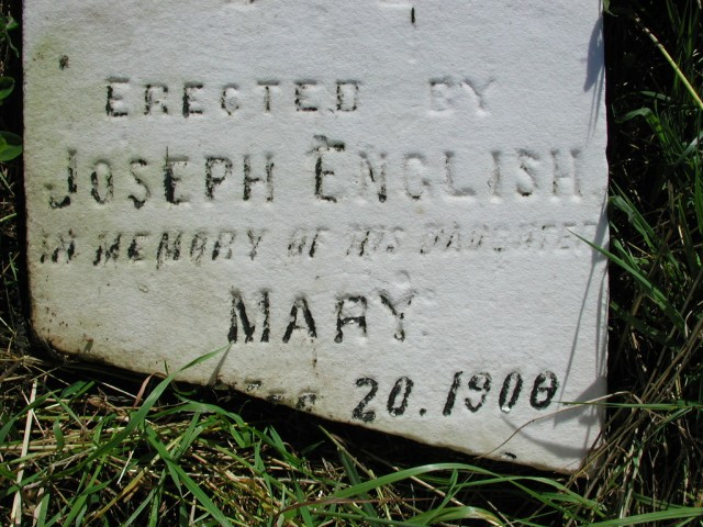 ENGLISH, Mary (190x) BRA02-3342