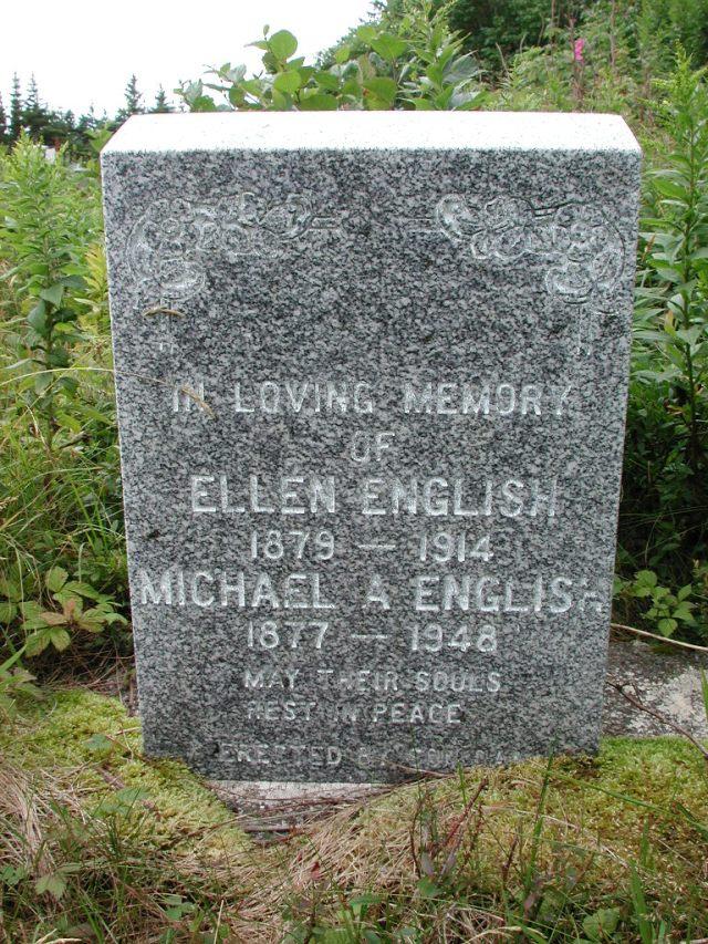 ENGLISH, Michael A (1948) & Ellen (1914) BRA01-7729