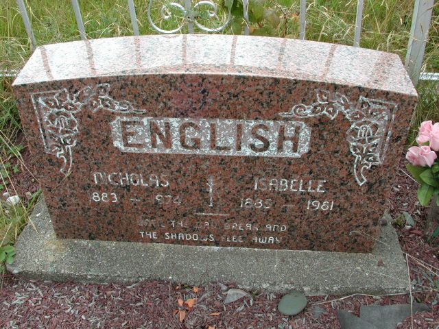 ENGLISH, Nicholas (1974) & Isabelle (1981) BRA01-3225