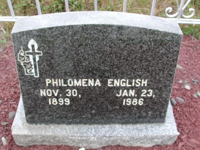 ENGLISH, Philomena (1986) BRA01-3210