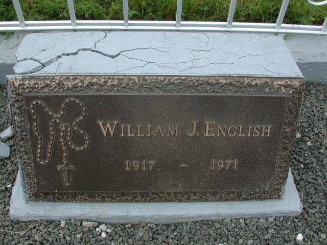 ENGLISH, William J (1971) BRA01-3185
