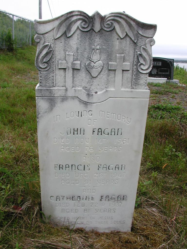 FAGAN, John (1961) & Francis & Catherine SJP01-7470