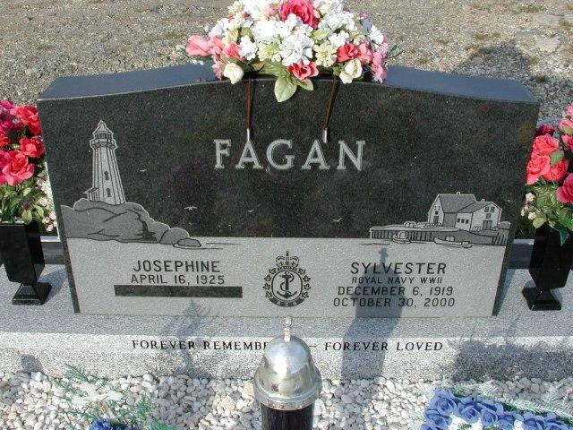 FAGAN, Sylvester (2000) & Josephine (1925) STM03-9440