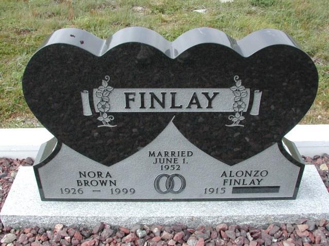 FINLAY, Alonzo (xxxx) & Nora Brown (1999) SSH01-8991