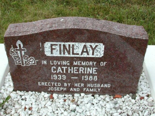 FINLAY, Catherine (1988) SSH01-9023