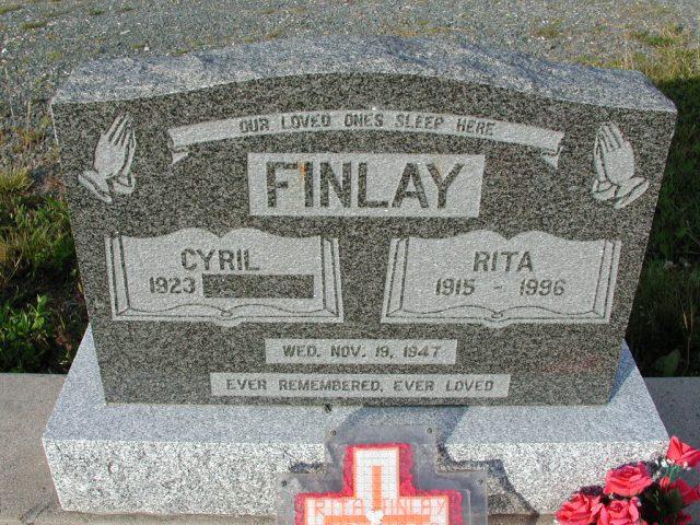 FINLAY, Cyril (xxxx) & Rita (1996) STM03-9407