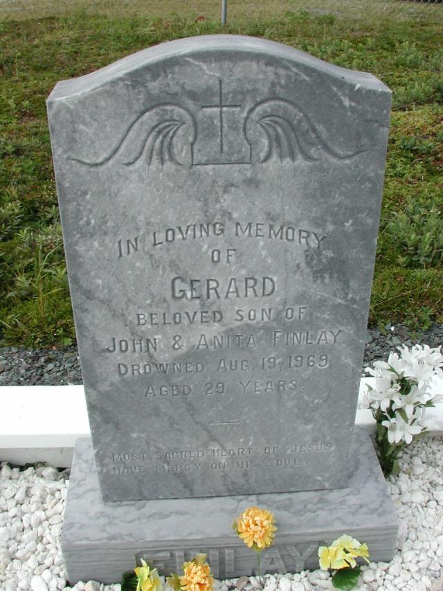 FINLAY, Gerard (1969) SSH01-8981