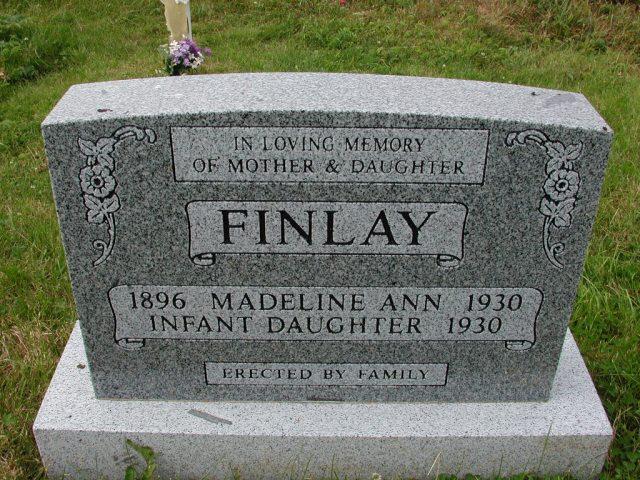 FINLAY, Madeline Ann (1930) & Baby SSH01-9009