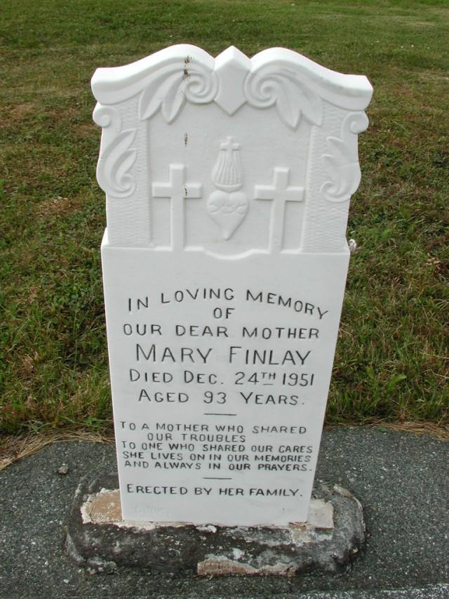 FINLAY, Mary (1951) SSH01-9051