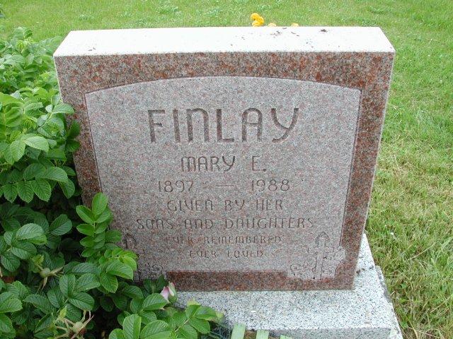 FINLAY, Mary E (1988) SSH01-9003