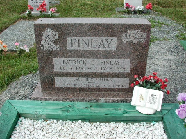 FINLAY, Patrick G (1996) SSH01-3323