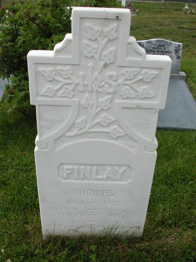FINLAY, Thomas (1923) SSH01-9016