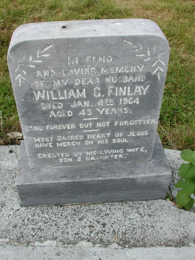 FINLAY, William G (1964) SSH01-9047