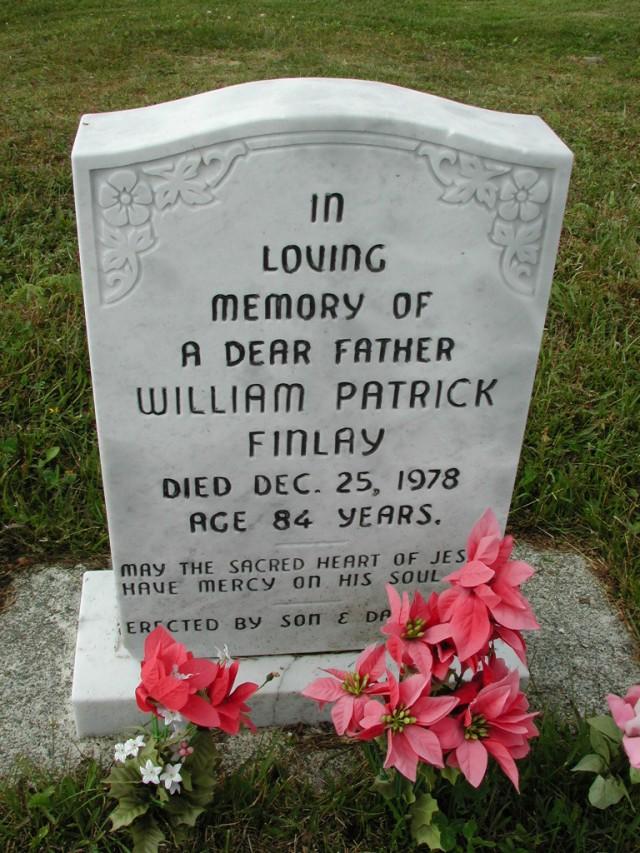 FINLAY, William Patrick (1978) SSH01-9052
