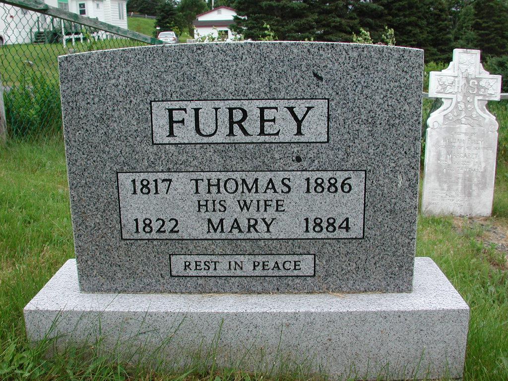 FUREY, Thomas (1886) & Mary (1884) SJP01-1819