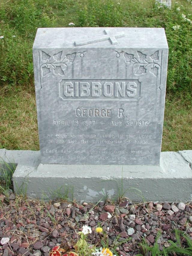 GIBBONS, George R (1972) STM01-2451