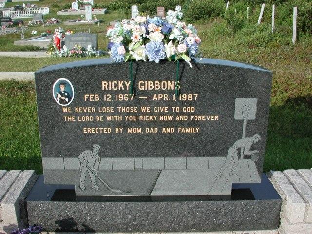 GIBBONS, Ricky (1987) STM03-3663