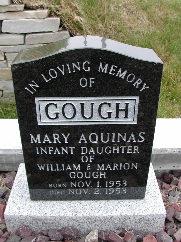 GOUGH, Mary Aquinas (1953) SJP01-7408