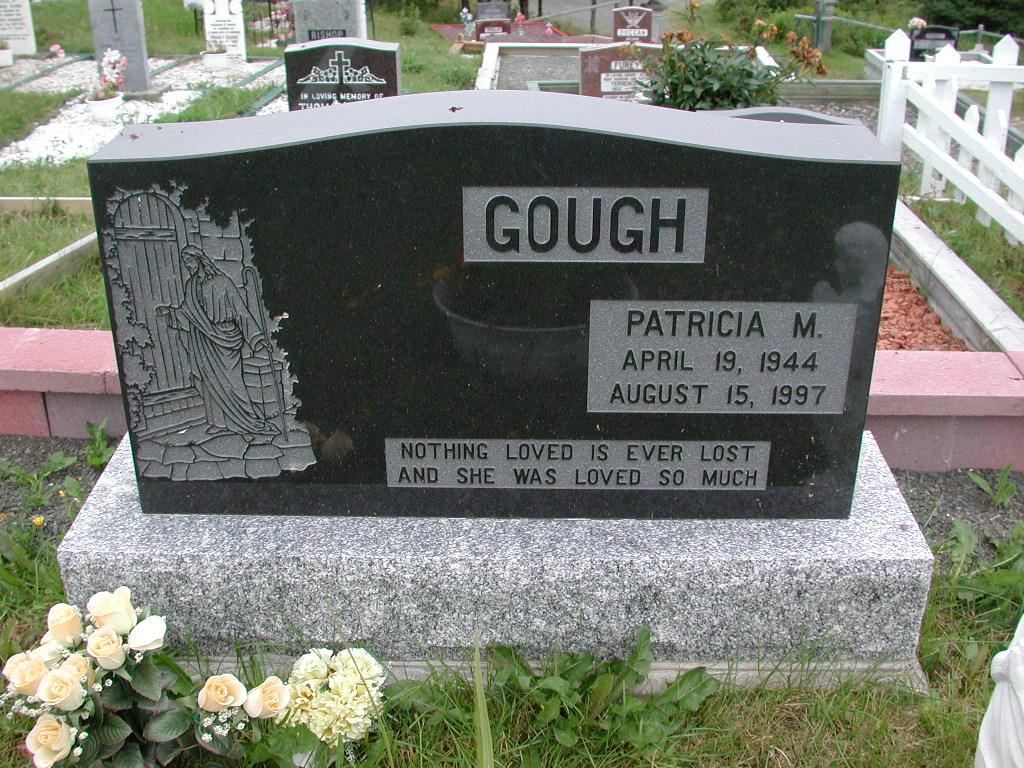 GOUGH, Patricia (1997) SJP01-1697