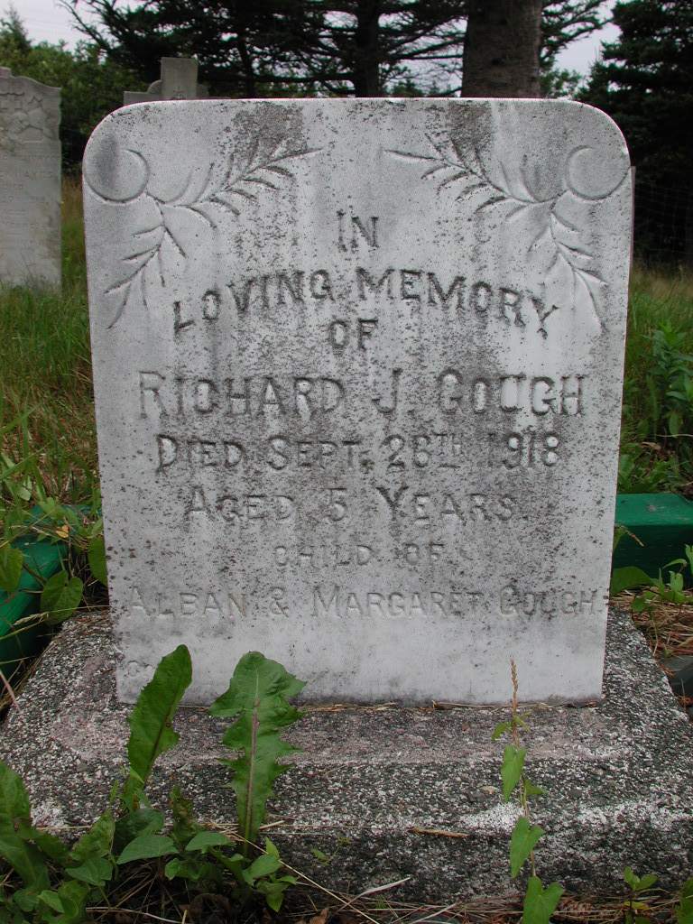GOUGH, Richard J (1918) SJP01-1752