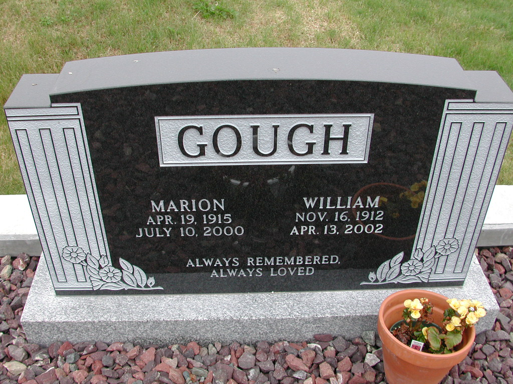 GOUGH, William (2002) & Marion (2002) SJP01-7409