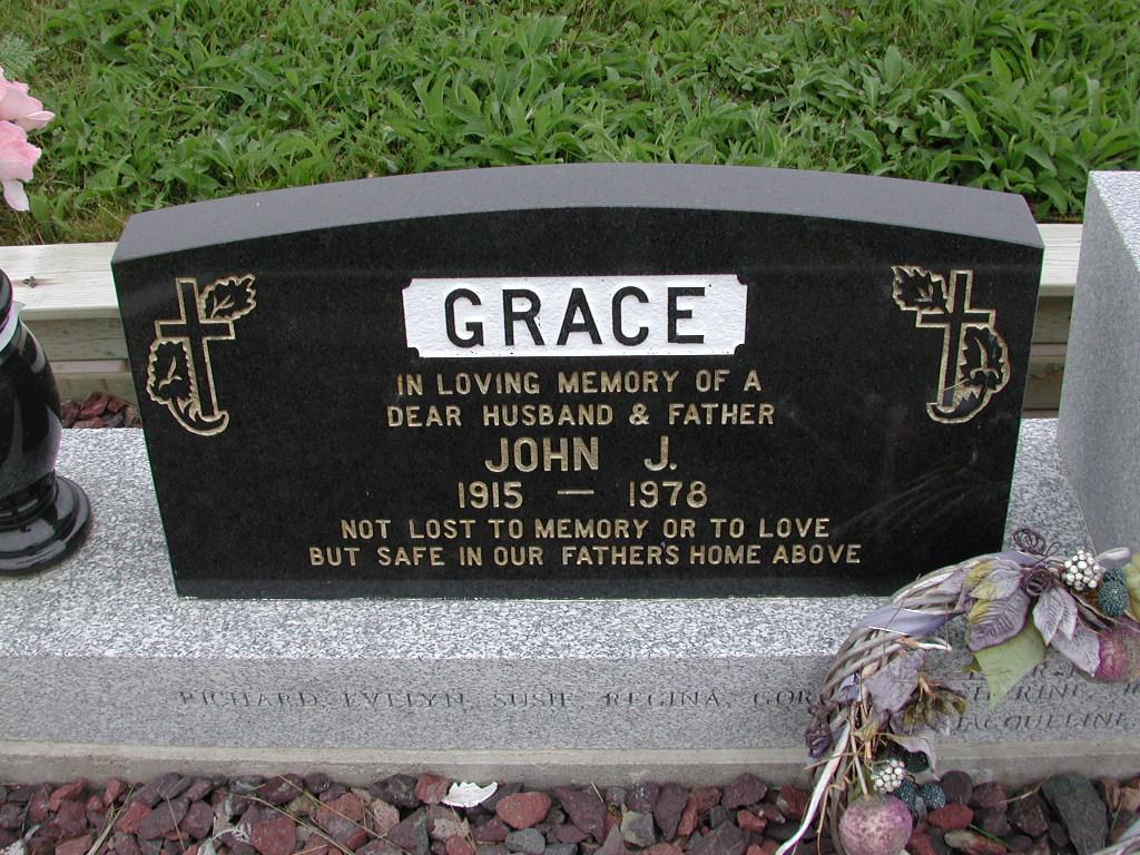 GRACE, John J (1978) SJP01-7425