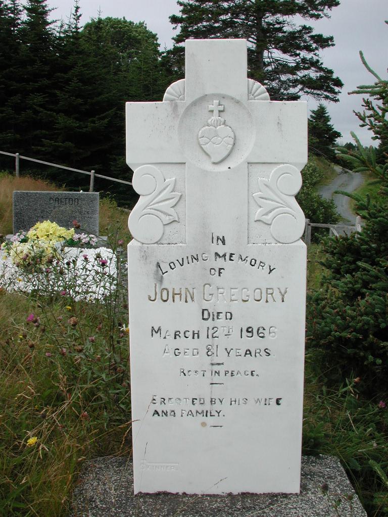GREGORY, John (1966) SJP01-1894