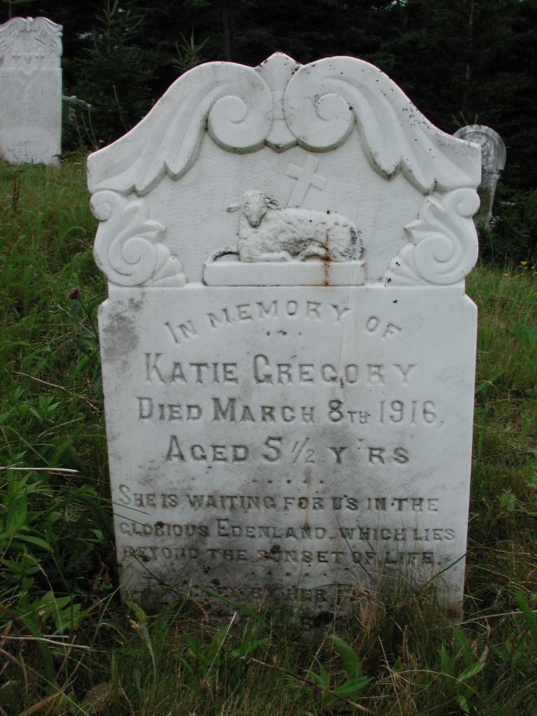 GREGORY, Katie (1916) SJP01-1833