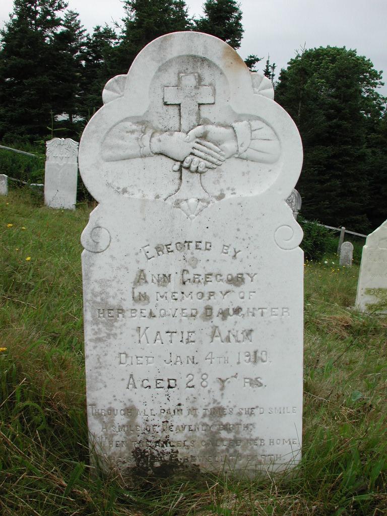GREGORY, Katie Ann (1910) SJP01-1857