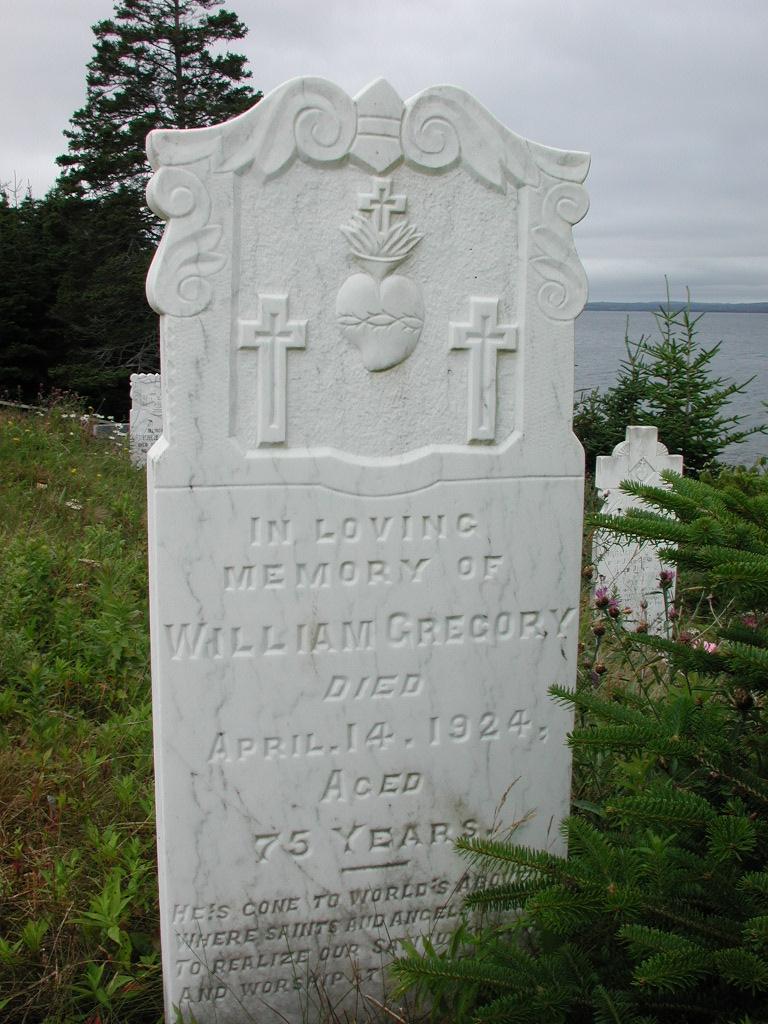 GREGORY, William (1924) SJP01-1899