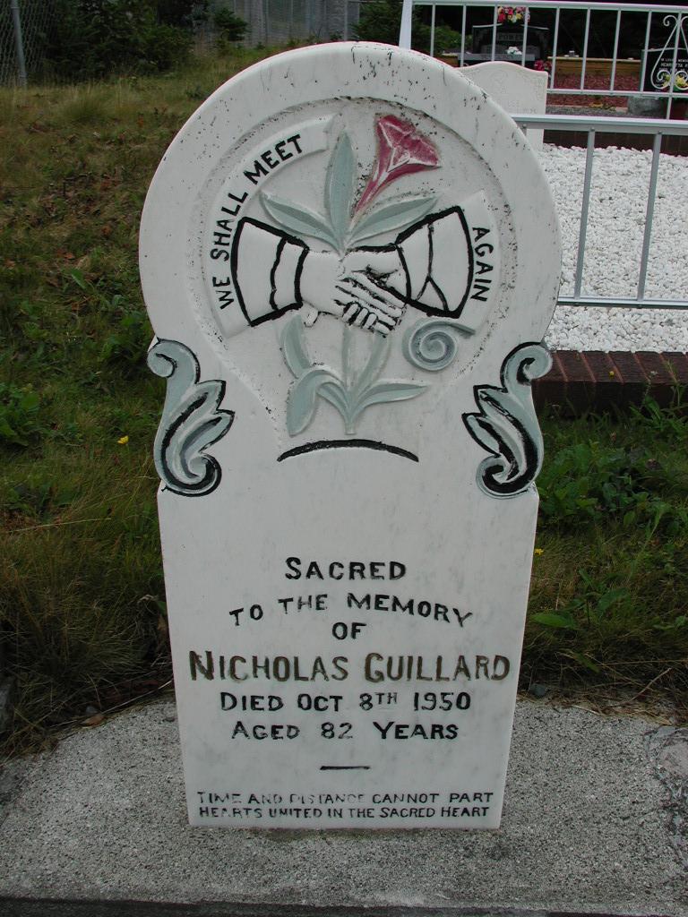 GUILLARD, Nicholas (1950) SJP01-7392